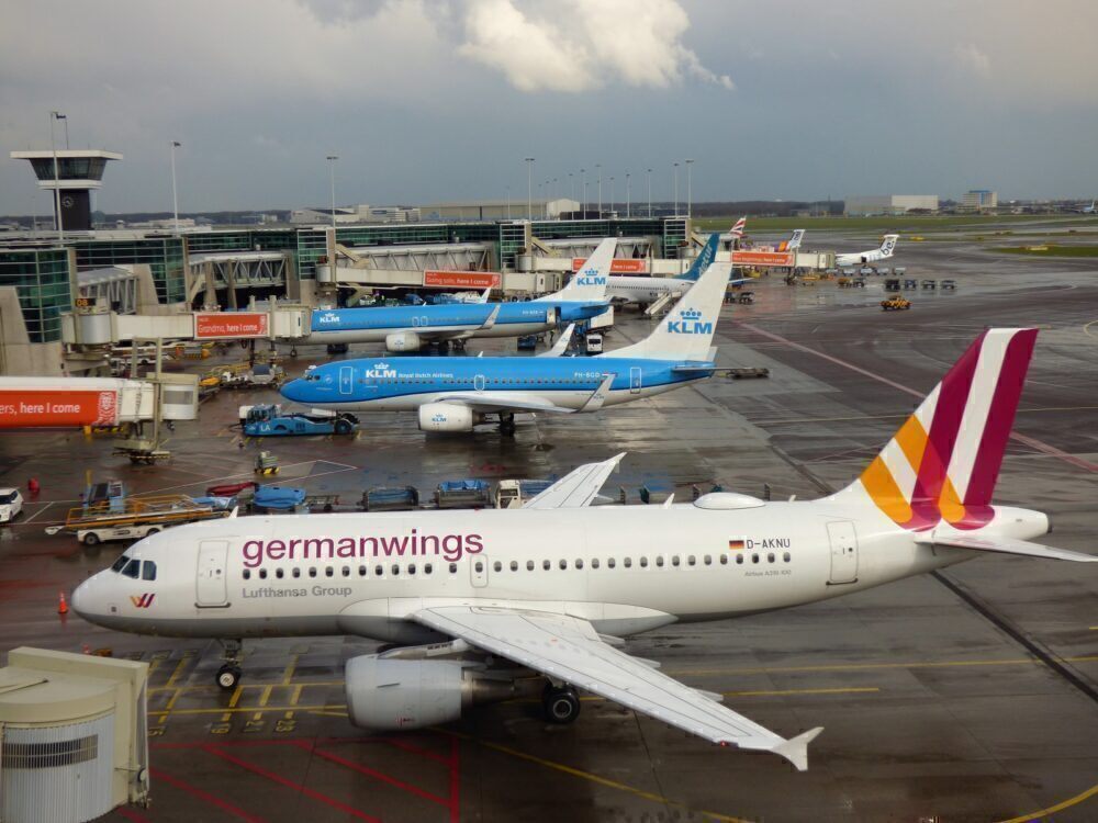 Germanwings A319 & KLM 737s Amsterdam