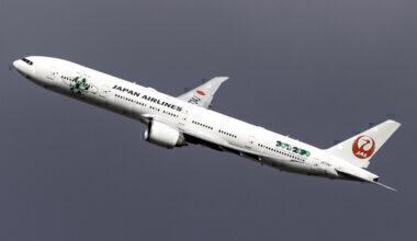 Japan Airlines Boeing 777-346(ER) JA734J