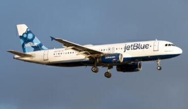 JetBlue, Guatemala City, Airbus A320