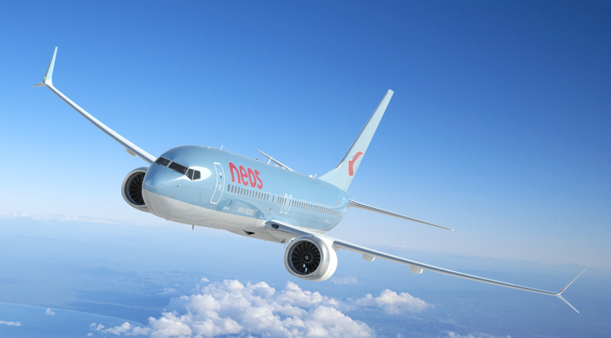 Italian Carrier Neos Takes Delivery Of Two Brand New Boeing 737 MAX Aircraft – Simple Flying