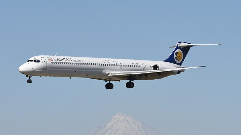 Caspian Airlines MD-83