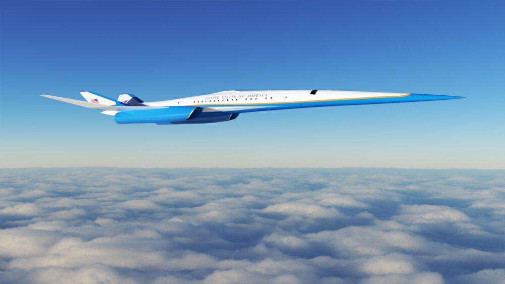 Exosonic Presidential Jet