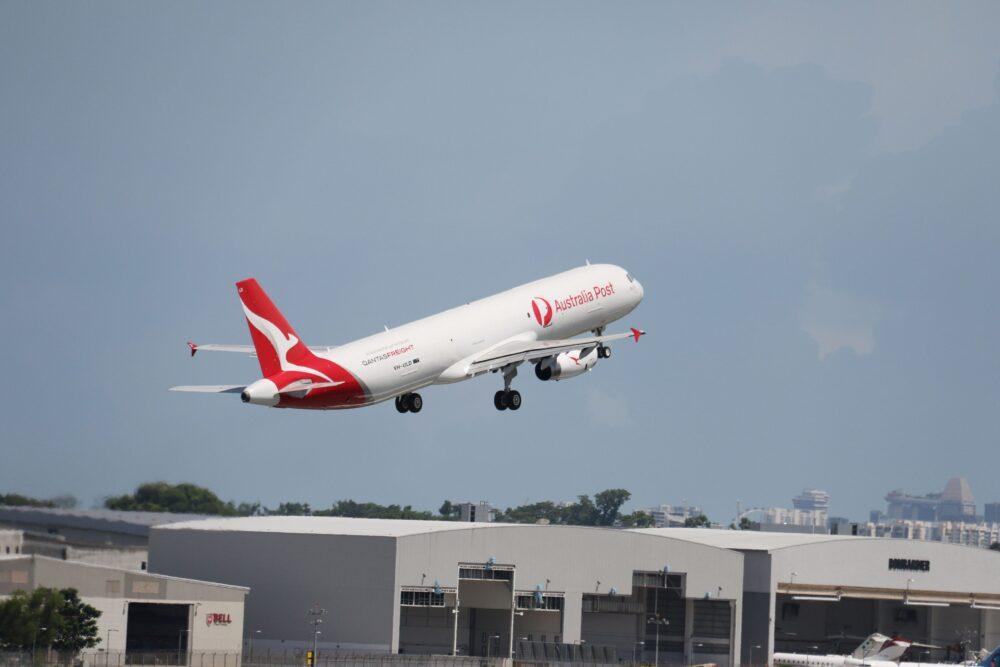 Qantas A321P2F
