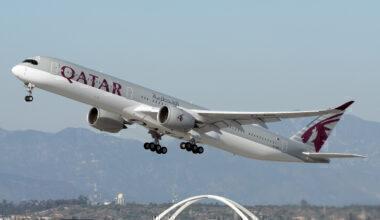 Qatar Airways Airbus A350-1041 A7-ANQ