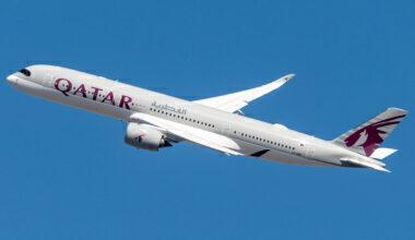 Qatar Airways Airbus A350-941 A7-AMH