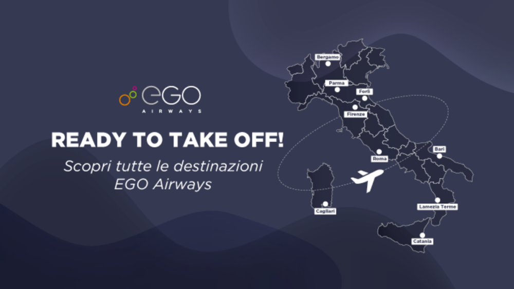 Italy Has A New Airline: EGO Airways Operates Maiden Flight