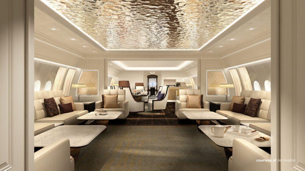 BBJ 777X Cabin