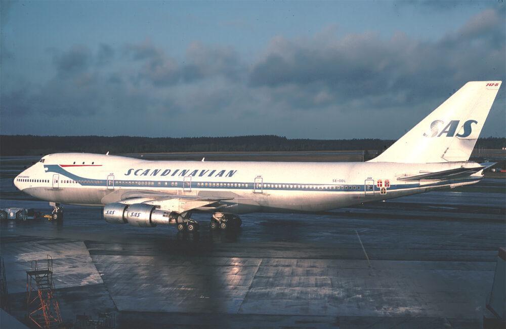 SAS Boeing 747