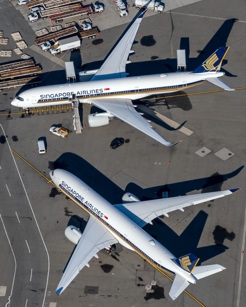 Singapore Airlines Takes 3 Airbus A350s In One Day