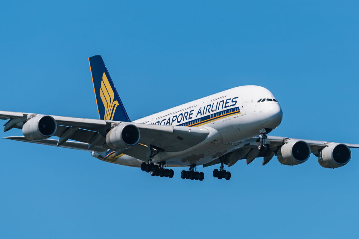 What Is Happening With Singapore Airlines' Airbus A380s?