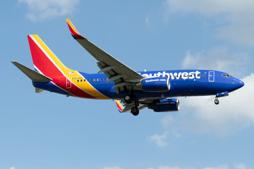 Southwest Boeing 737-700