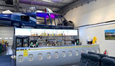 The Aviator Gin Bar Main
