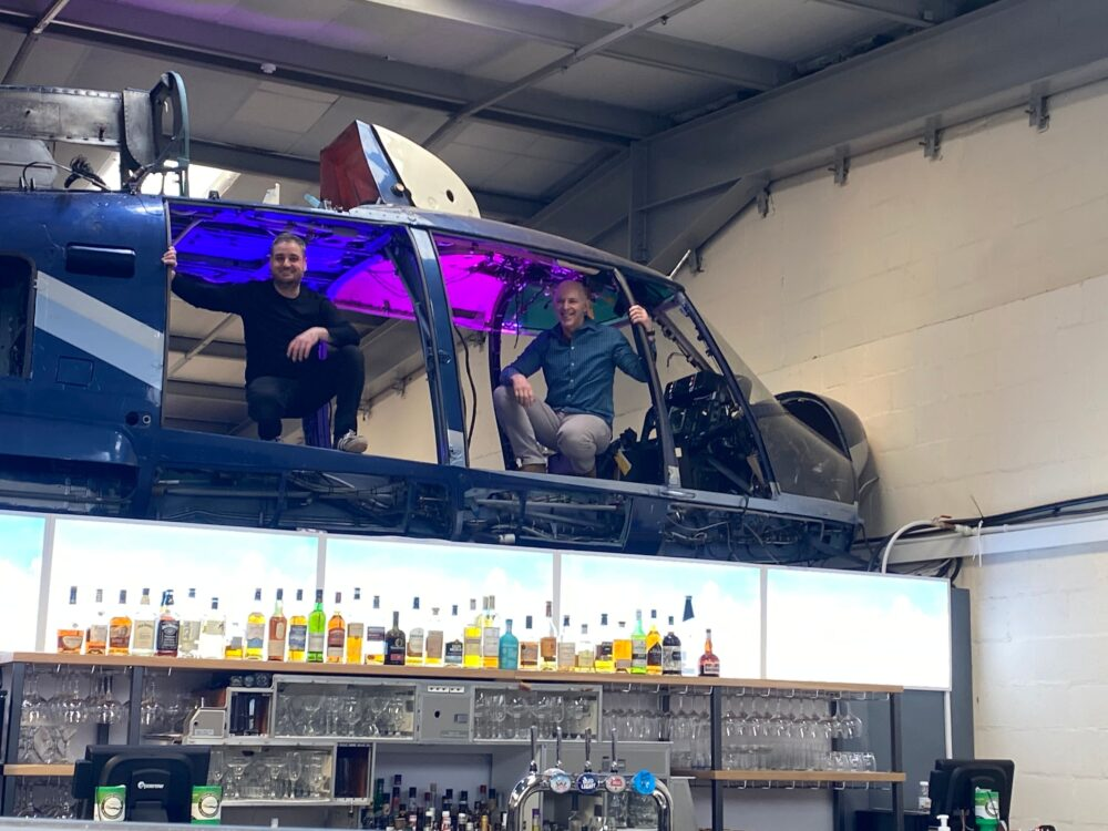 The Aviator Gin Bar Management