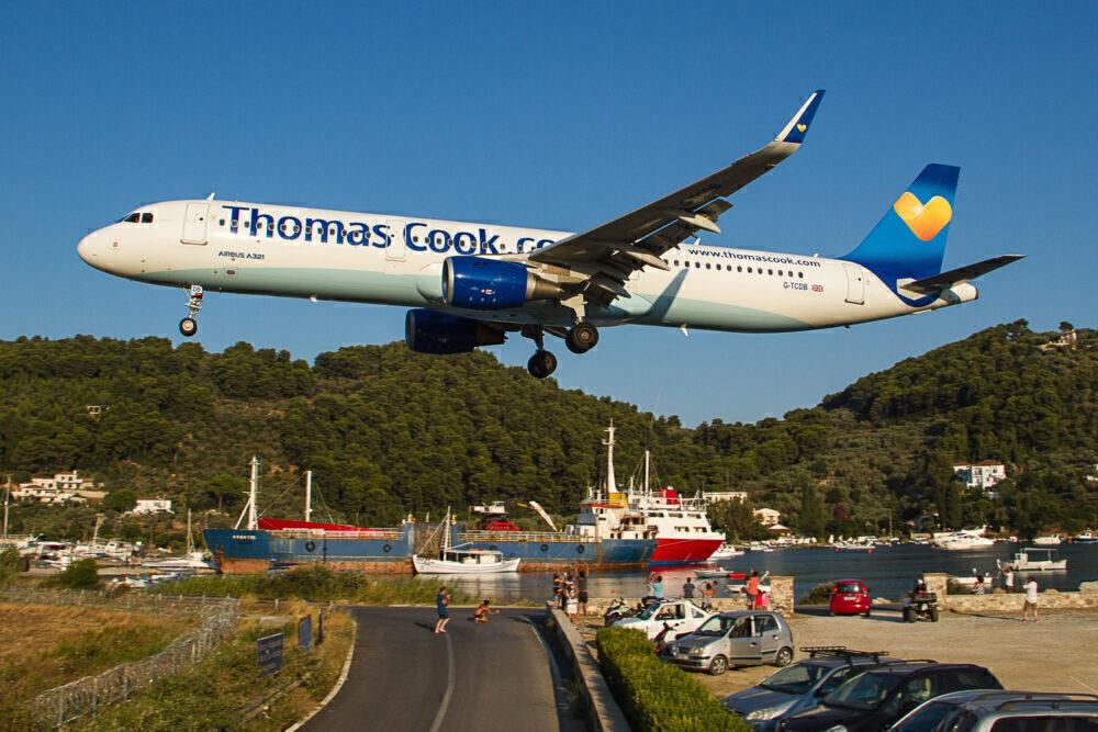 Thomas Cook Airbus A321 Skiathos