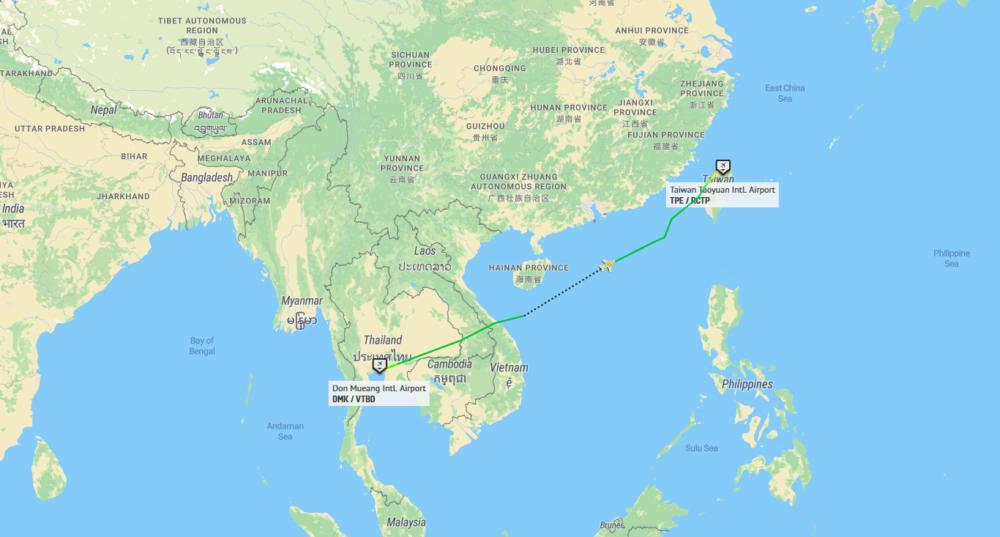 Tiger Air Taiwan Bangkok Taipei