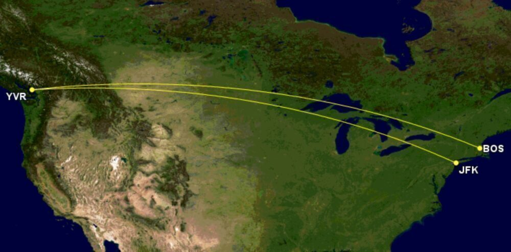JetBlue to Canada