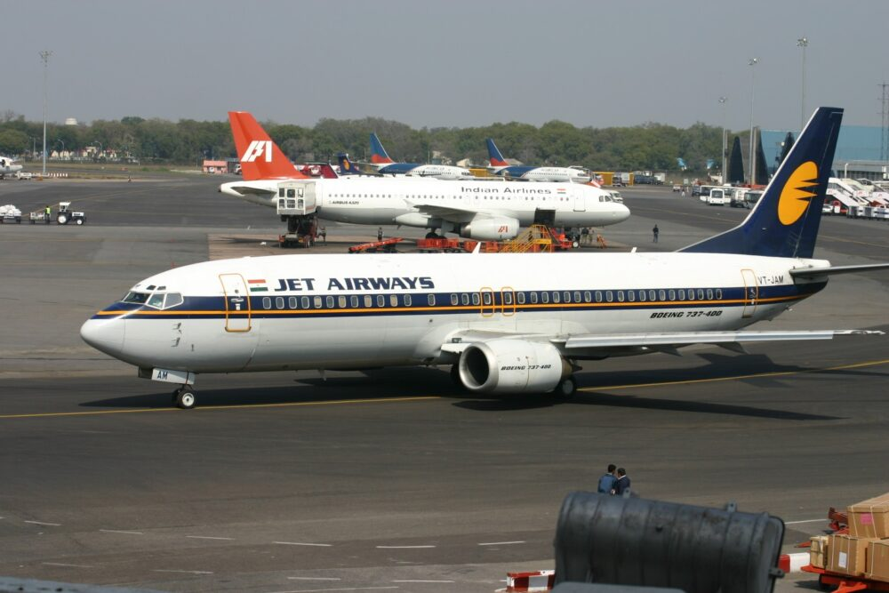 Jet Airways Boeing 737-400