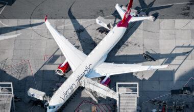 Virgin Atlantic Airways Airbus A350-1041 G-VLUX