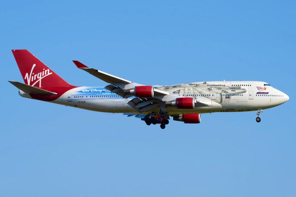 Virgin B747-400
