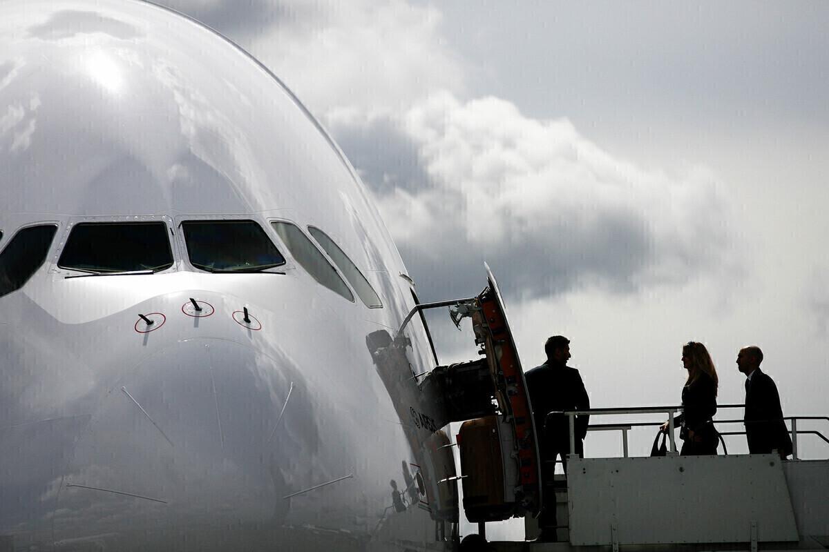 British Airways, Airbus A380, Sean Doyle