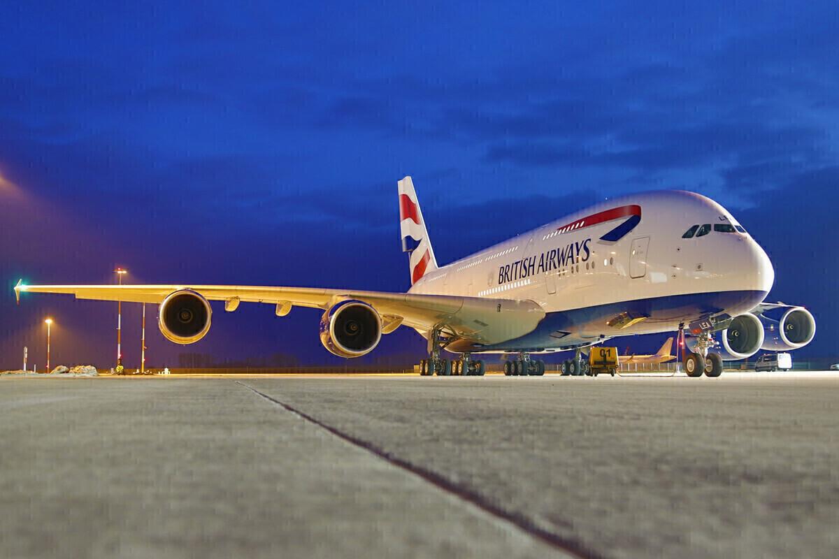 British Airways, Airbus A380, Maintenance