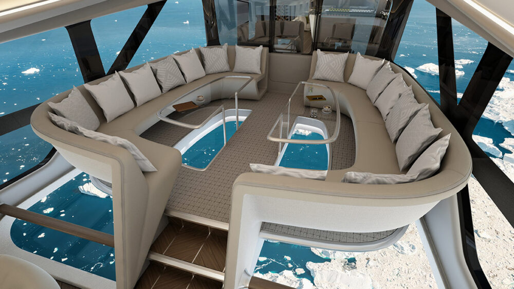 Cabin interior Airlander 10
