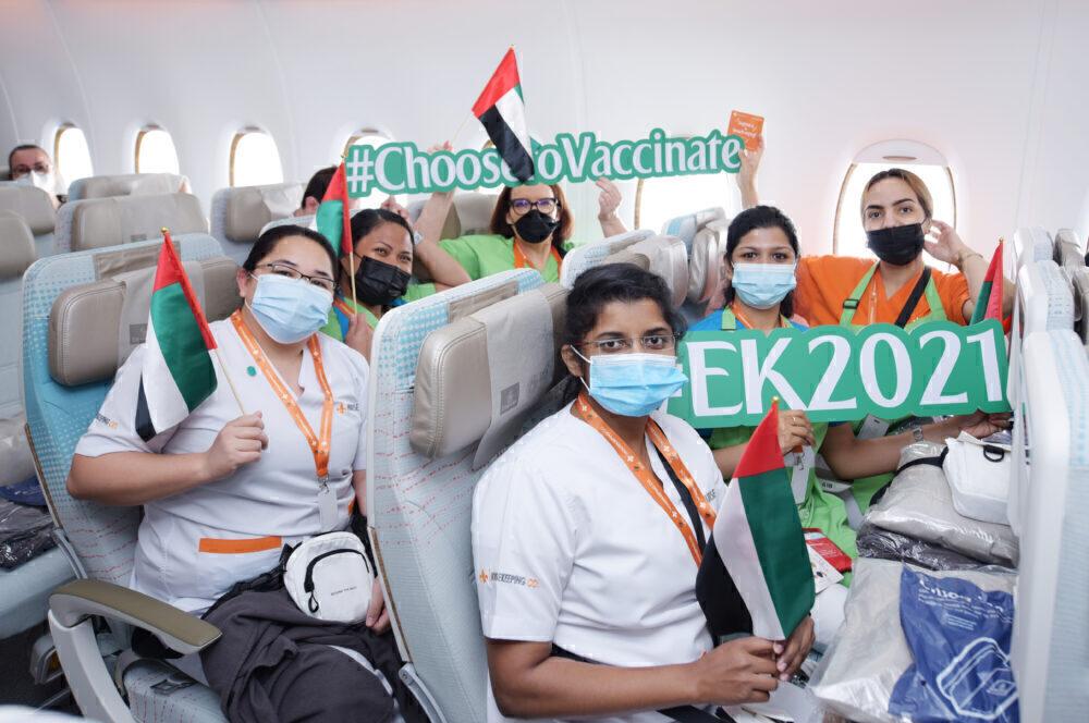 EK2021 Emirates Passengers