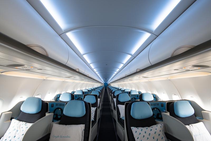 La Compagnie A321neo – cabin