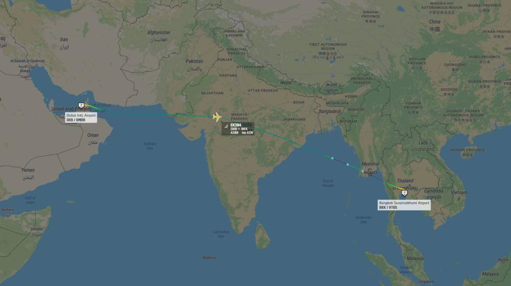 Emirates Resumes Airbus A380 Flights To Bangkok And Hong Kong