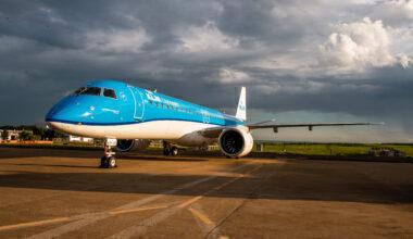 KLM embraer 195 e2