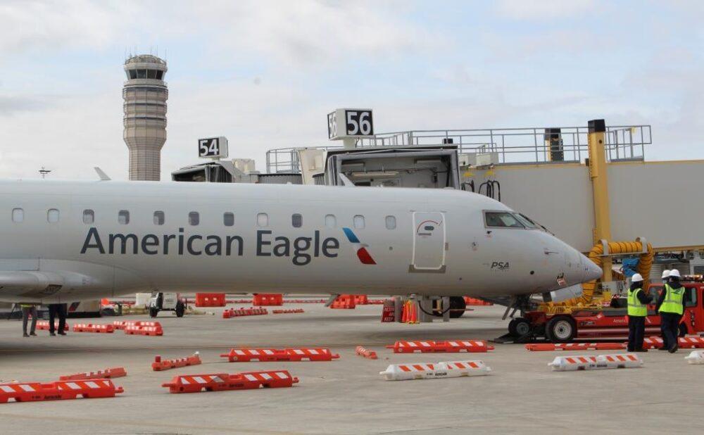 American Eagle Test DCA