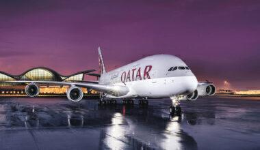Airbus A380 Qatar Airways
