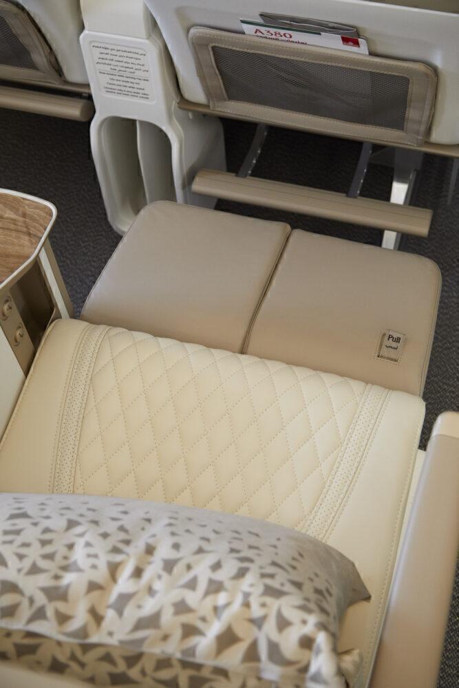 Emirates Premium Economy Seat View