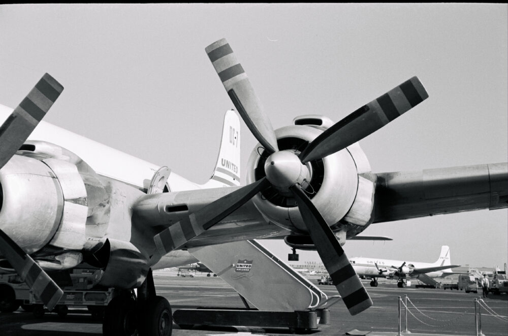 United Airlines Douglas DC7 - 1958