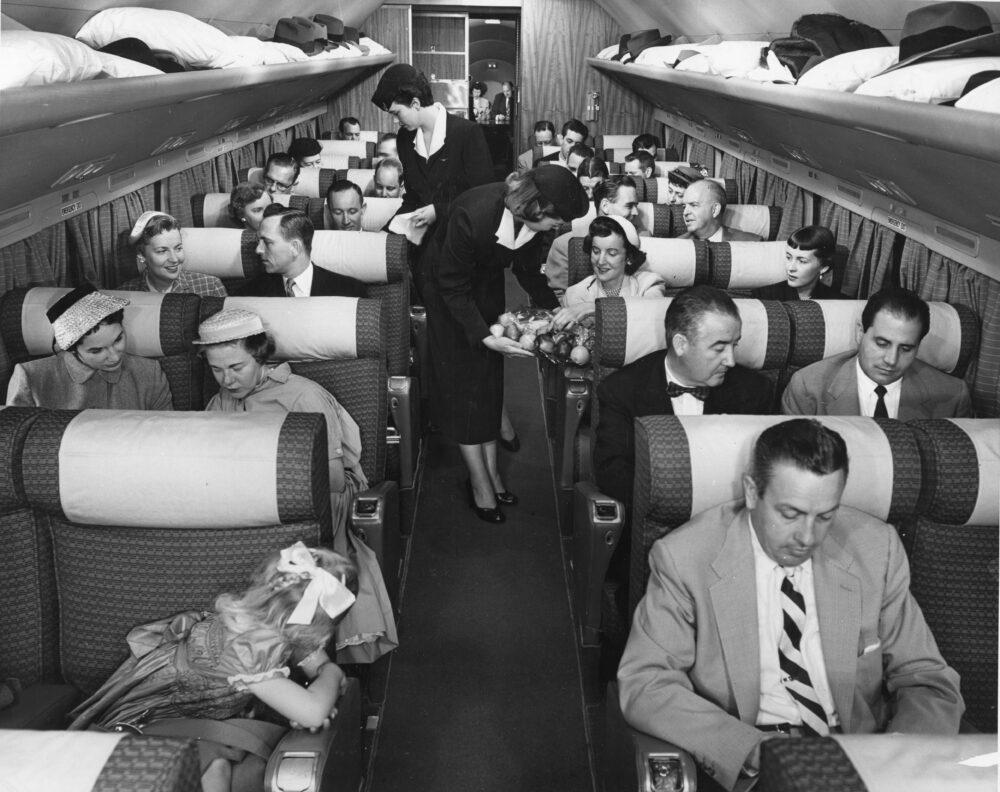 DC-7 Passenger Cabin