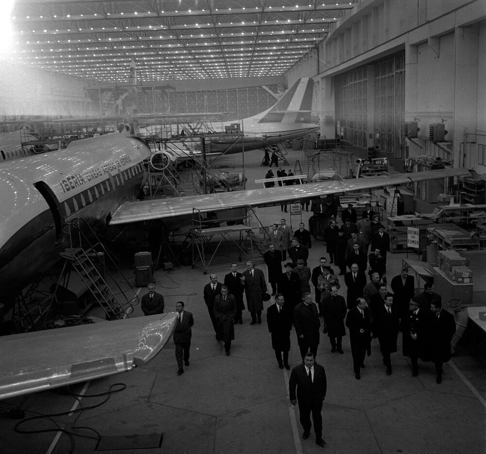 Sud Aviation Caravelle Assembly