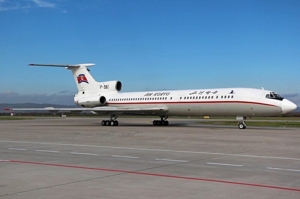 코 리오 투폴 레프 Tu-154