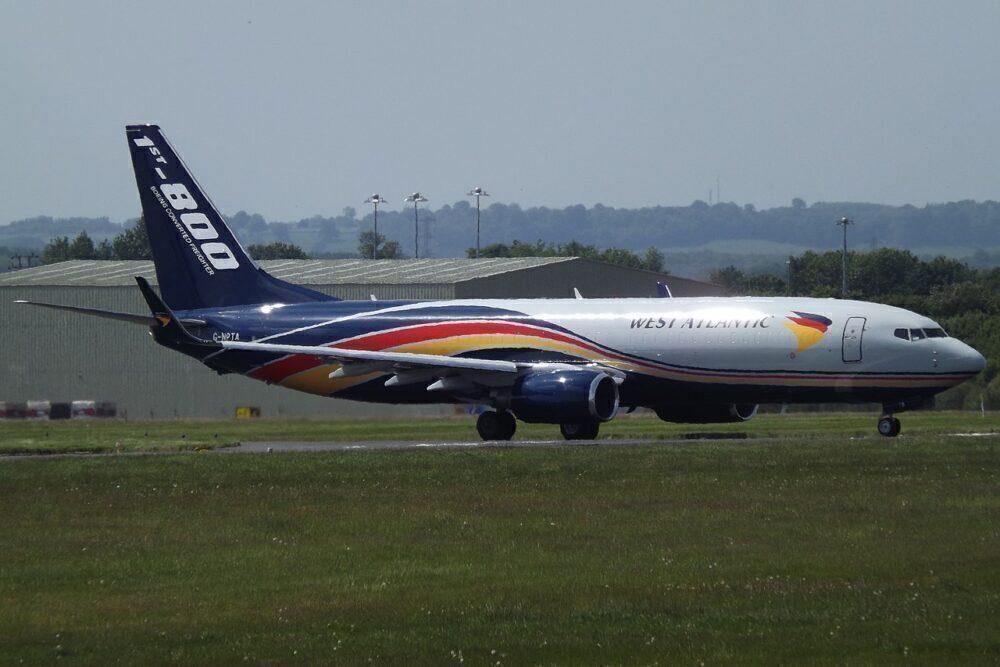 West Atlantic Boeing 737