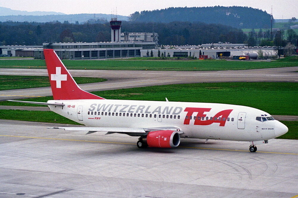 TEA Switzerland Boeing 737-300