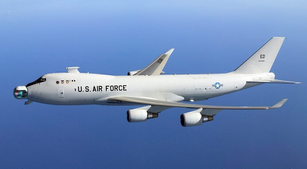 Boeing 747 YAL-1 Missile Defense