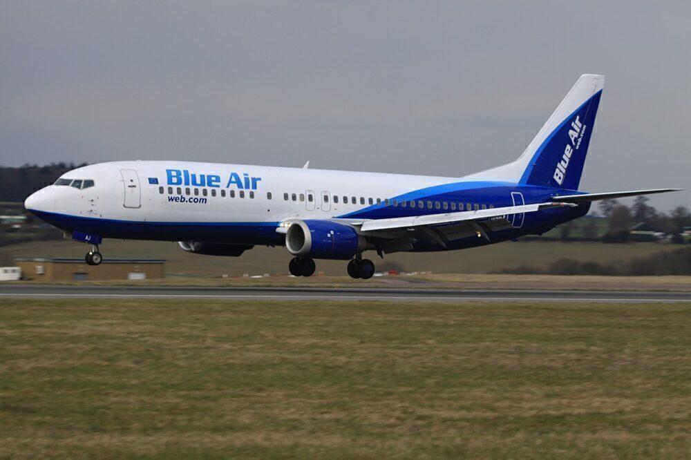 Blue Air Boeing 737-400