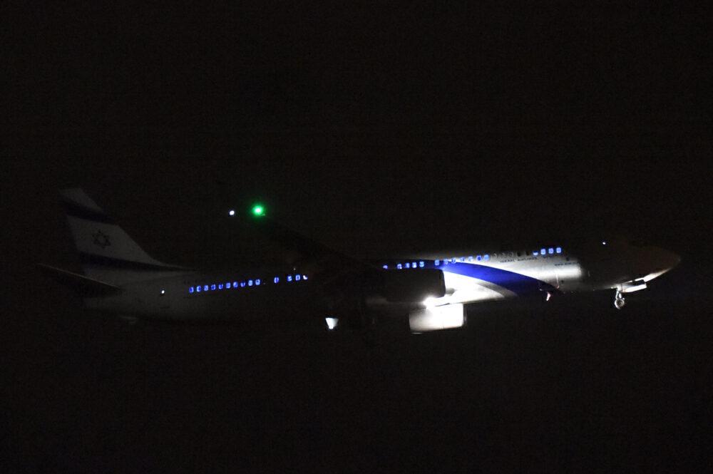 El Al 737-900 rocket attacks