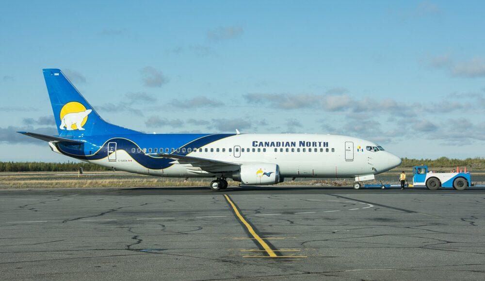 Canadian North 737 combi