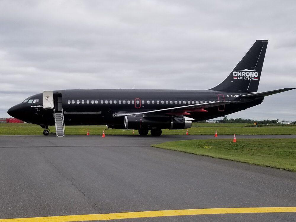 Chrono Aviation 737 Combi