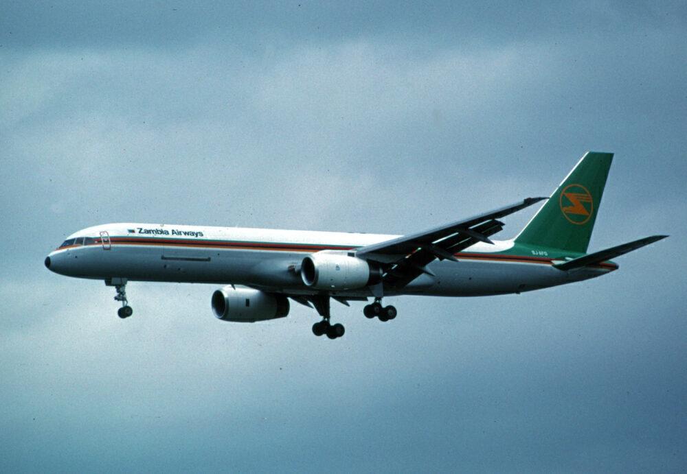 Zambia Airways Boeing 757PF
