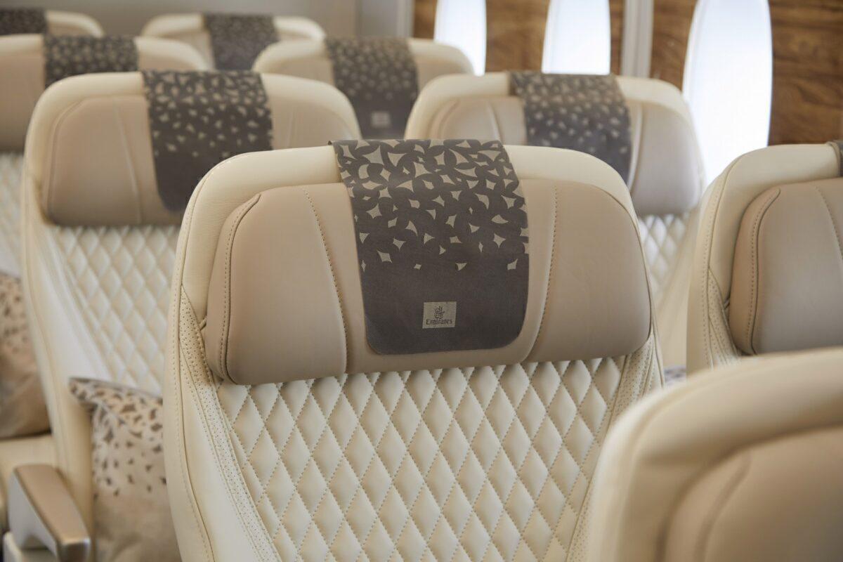 Emirates new premium economy seats