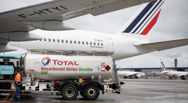 Air France A350 SAF flight