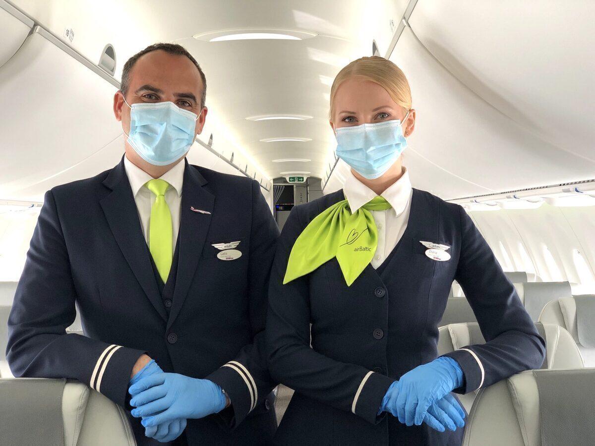 airBaltic, Vaccinations, Martin Gauss