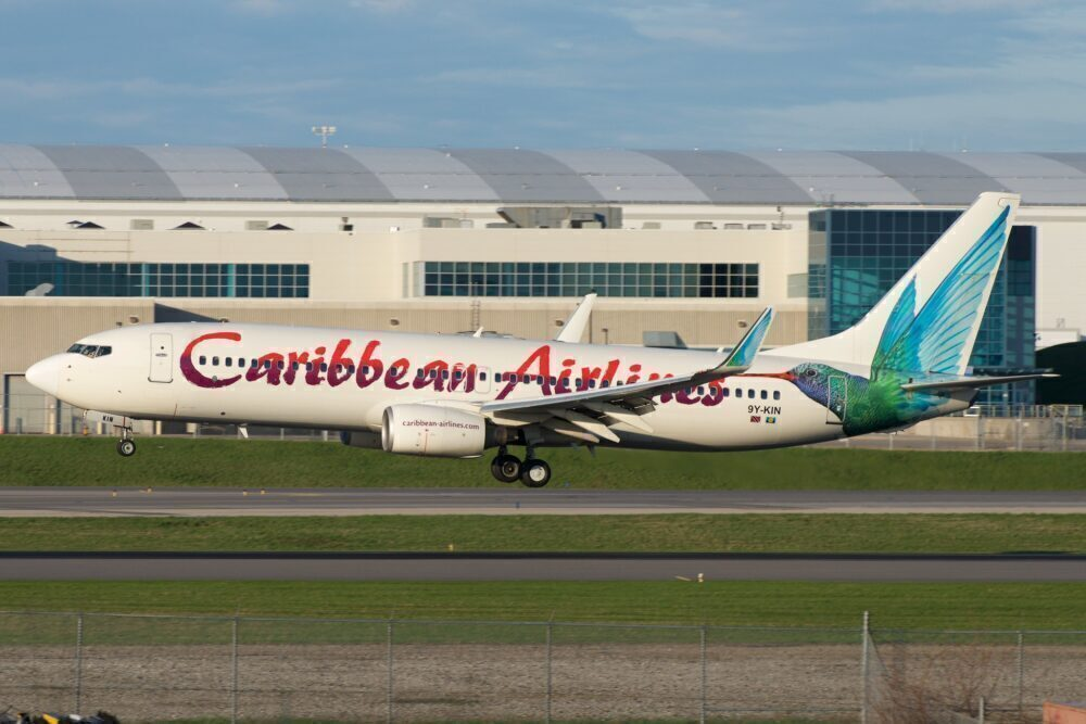 Caribbean Airlines Boeing 737