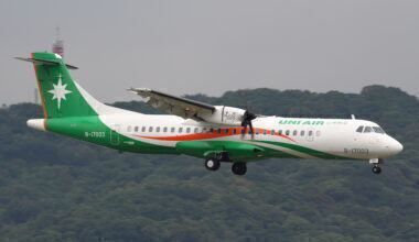 Uni Air ATR 72-600